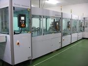 Auto pining and tape clamp line